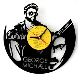 Ceas traforat manual din vinil – George Michael