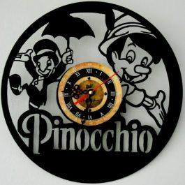 Ceas traforat manual din vinil – Pinocchio
