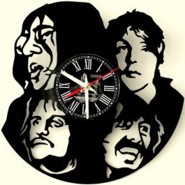 Ceas traforat manual din vinil – The Beatles