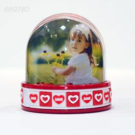 Glob foto Love alb+rosu – LED
