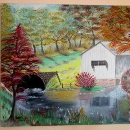 Tablou pictat – Moara
