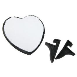 Placa ardezie in forma de inima