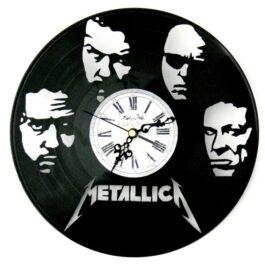 Ceas traforat manual din vinil – Metallica