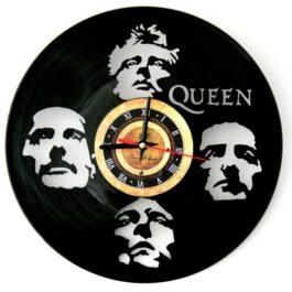 Ceas traforat manual din vinil – trupa Queen