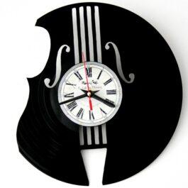 Ceas traforat manual din vinil – vioara